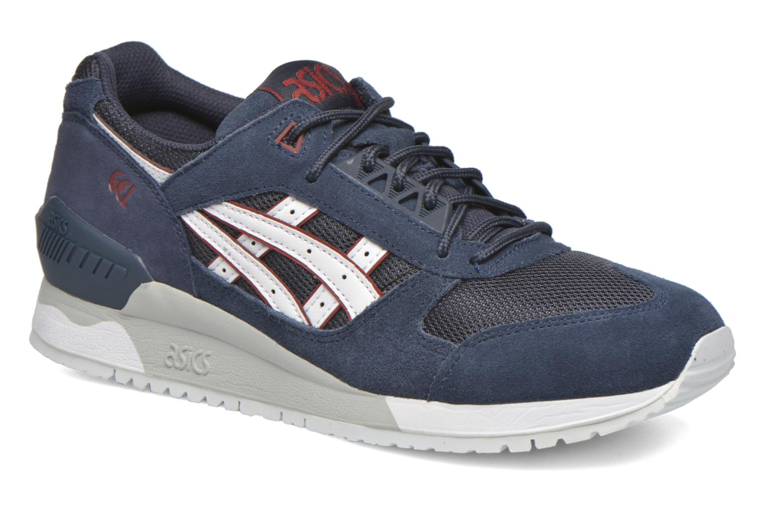 Trainers Asics Gel-Respector Blue detailed view/ Pair view