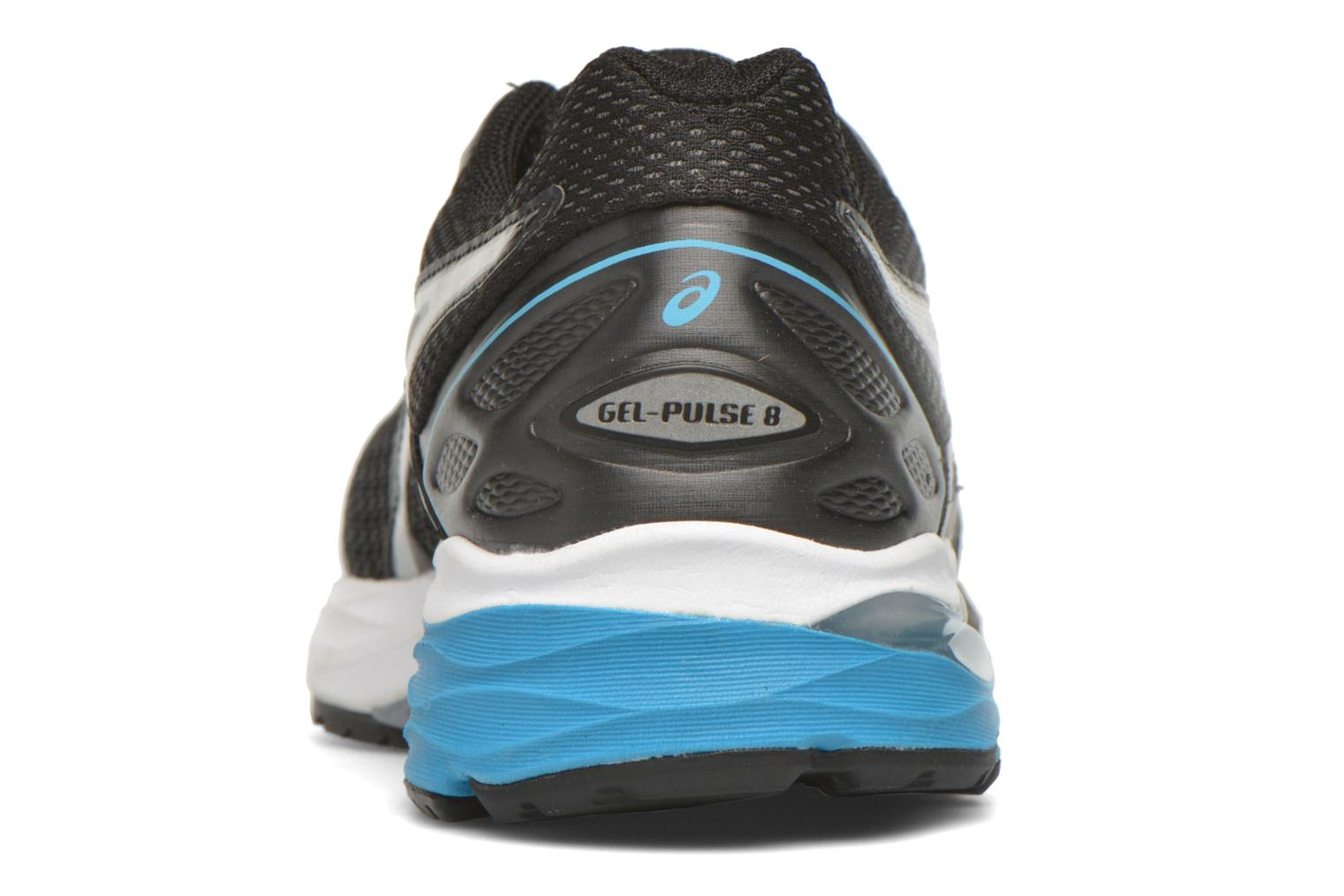 Sport shoes Asics Gel-Pulse 8 Black view from the right