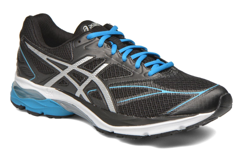 Sport shoes Asics Gel-Pulse 8 Black detailed view/ Pair view