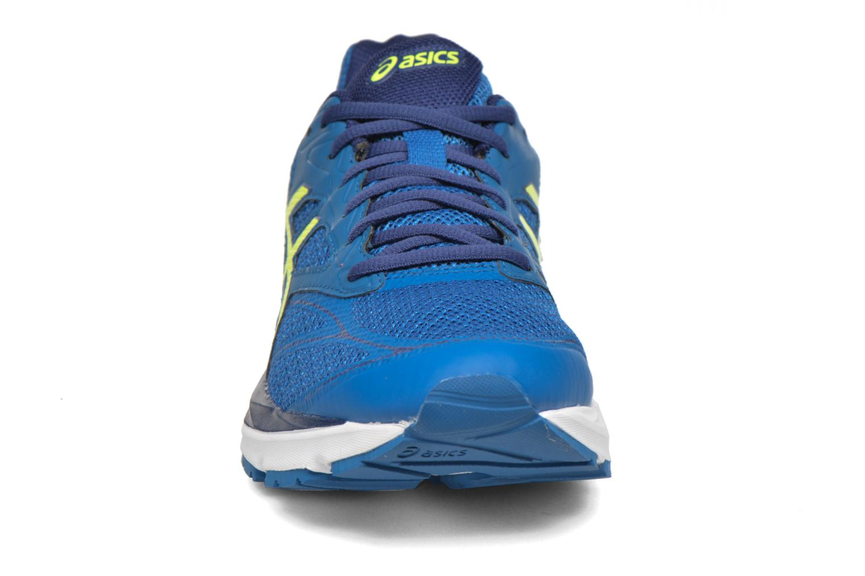 Sportschuhe Asics Gel-Pulse 8 blau schuhe getragen