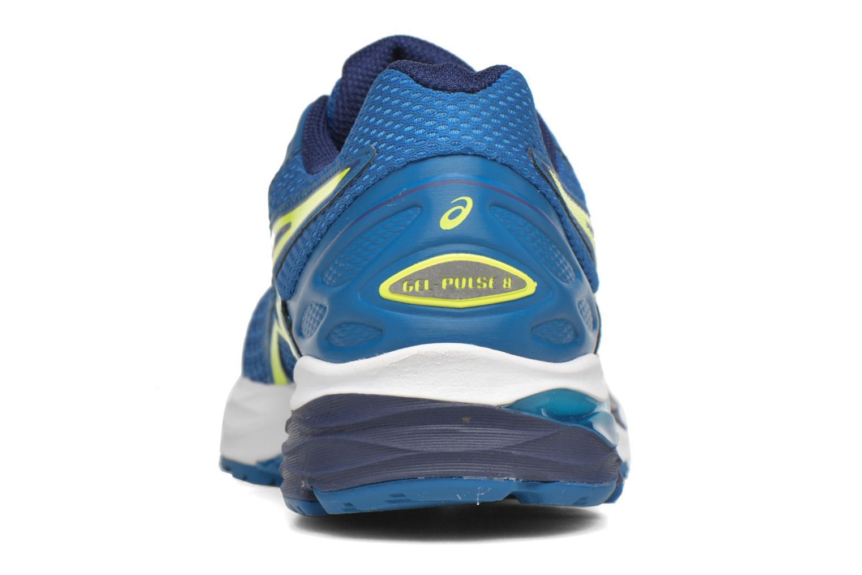 Chaussures de sport Asics Gel-Pulse 8 Bleu vue droite