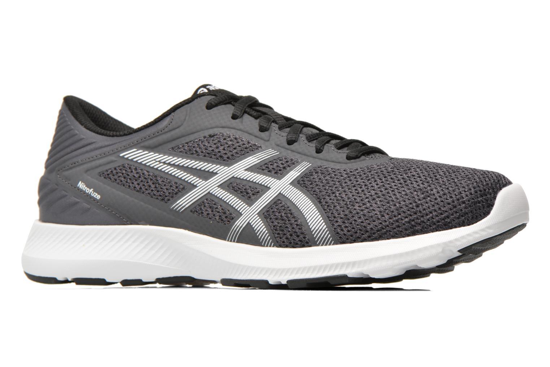 Sport shoes Asics Nitrofuze Grey back view
