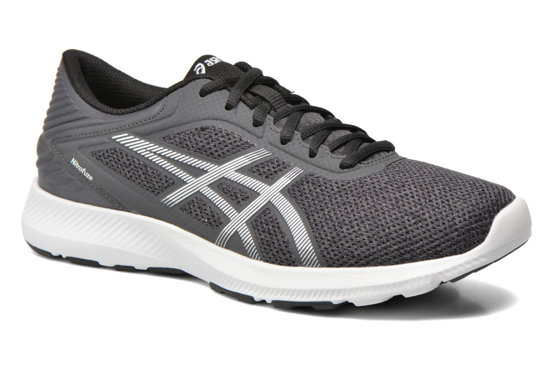 Sport shoes Asics Nitrofuze Grey detailed view/ Pair view