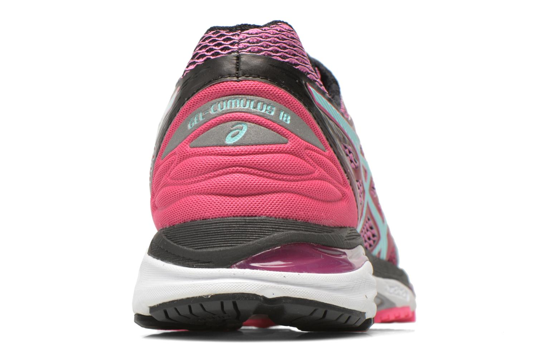 Chaussures de sport Asics Gel-Cumulus 18 W Rose vue droite