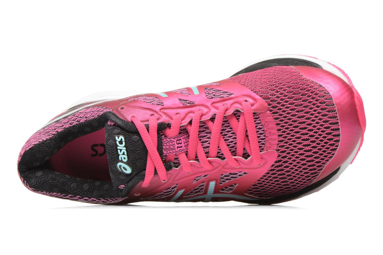 Chaussures de sport Asics Gel-Cumulus 18 W Rose vue gauche