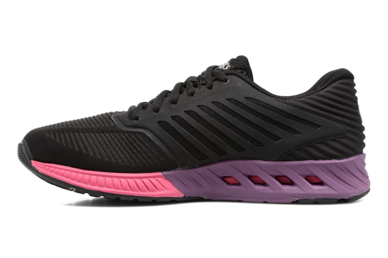Chaussures de sport Asics Fuzex W Noir vue face