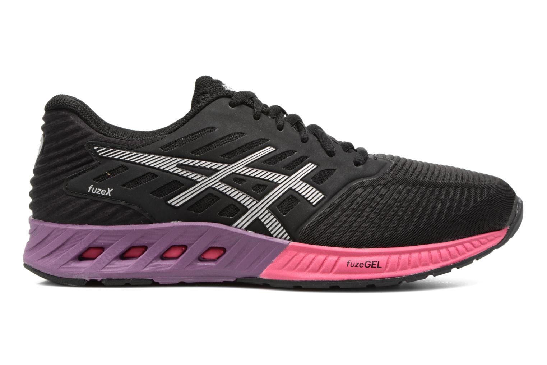 Chaussures de sport Asics Fuzex W Noir vue derrière
