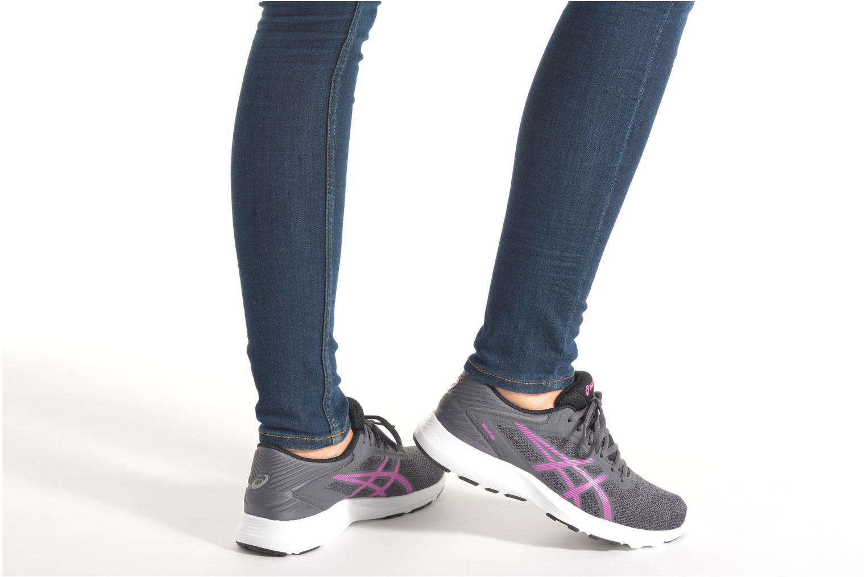 Chaussures de sport Asics Nitrofuze W Gris vue bas / vue portée sac