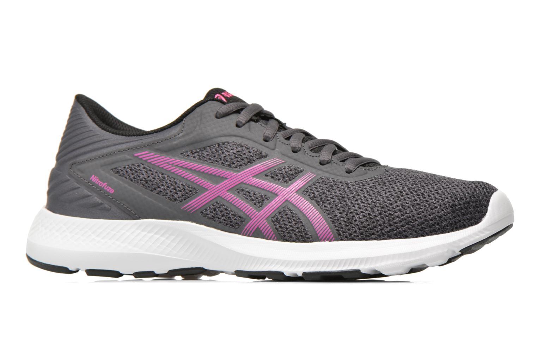 Chaussures de sport Asics Nitrofuze W Gris vue derrière