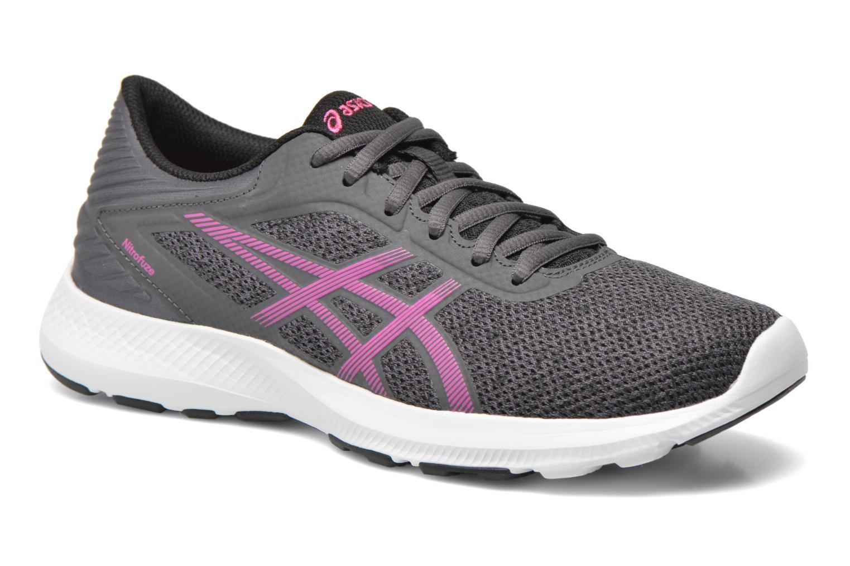 Chaussures de sport Asics Nitrofuze W Gris vue détail/paire