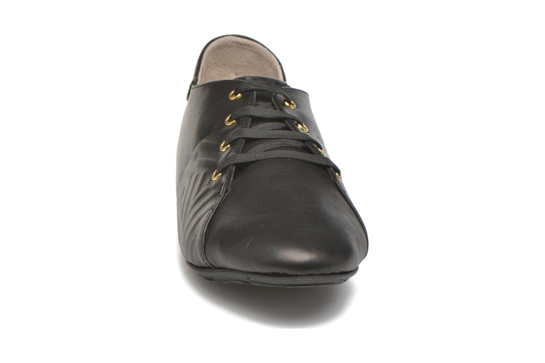 Chaussures à lacets TBS Charlyn Noir vue portées chaussures