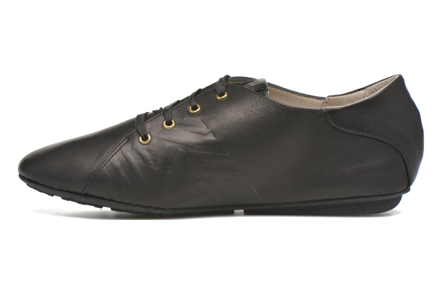 Lace-up shoes TBS Charlyn Black front view