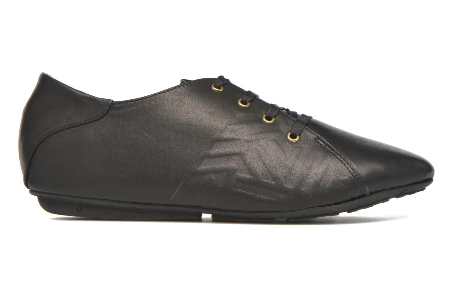 Lace-up shoes TBS Charlyn Black back view