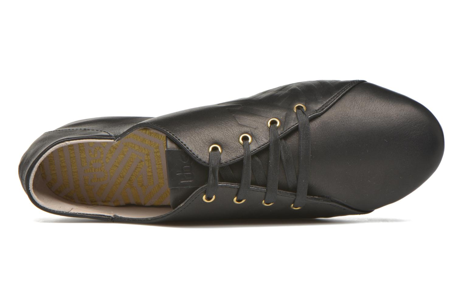 Lace-up shoes TBS Charlyn Black view from the left