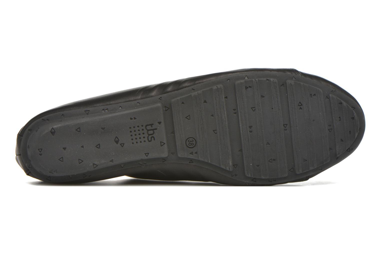 Chaussures à lacets TBS Charlyn Noir vue haut