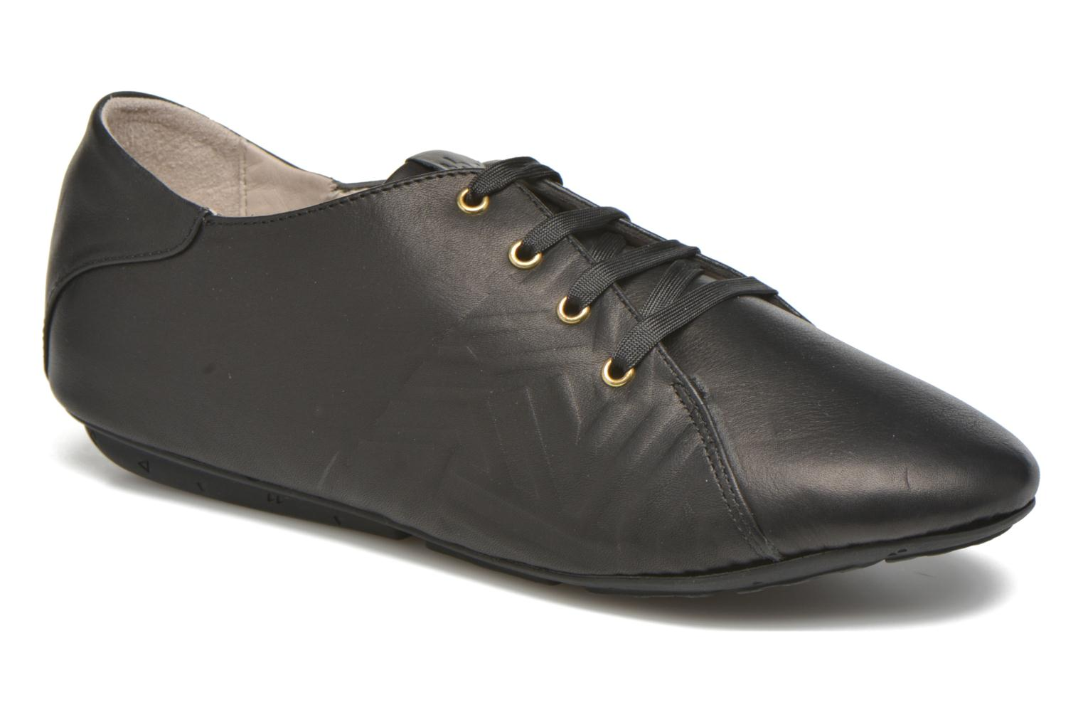 Lace-up shoes TBS Charlyn Black detailed view/ Pair view