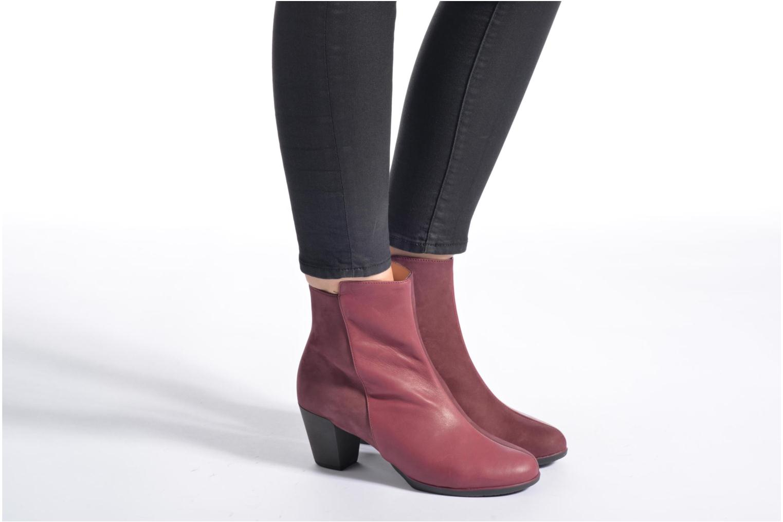 Bottines et boots TBS Katelyn Marron vue bas / vue portée sac