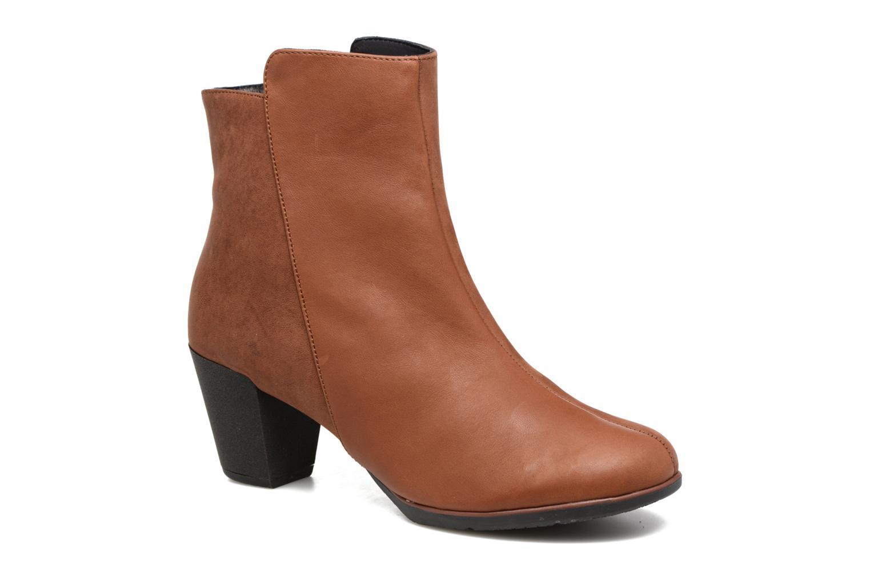 Bottines et boots TBS Katelyn Marron vue détail/paire