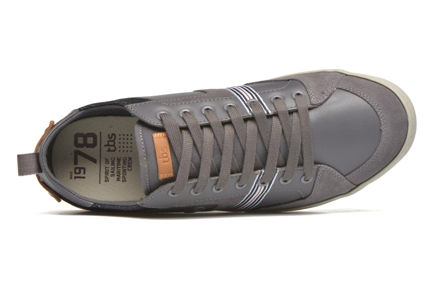Trainers TBS Blaster Grey view from the left