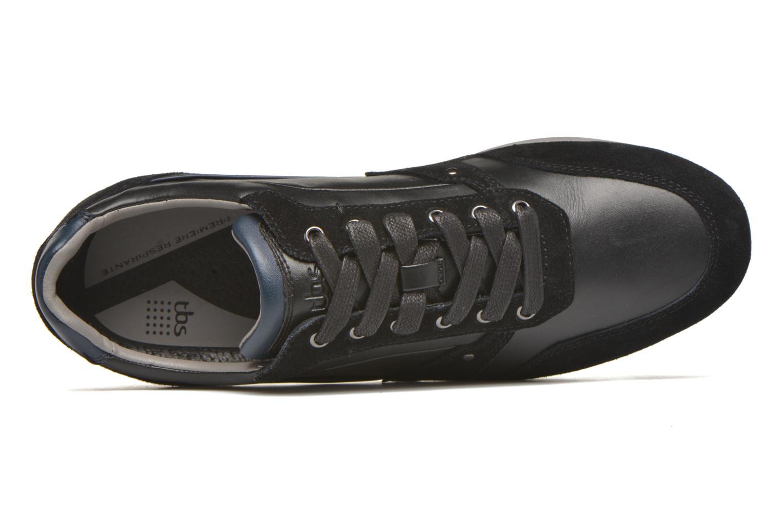 Sneakers TBS Langton Nero immagine sinistra