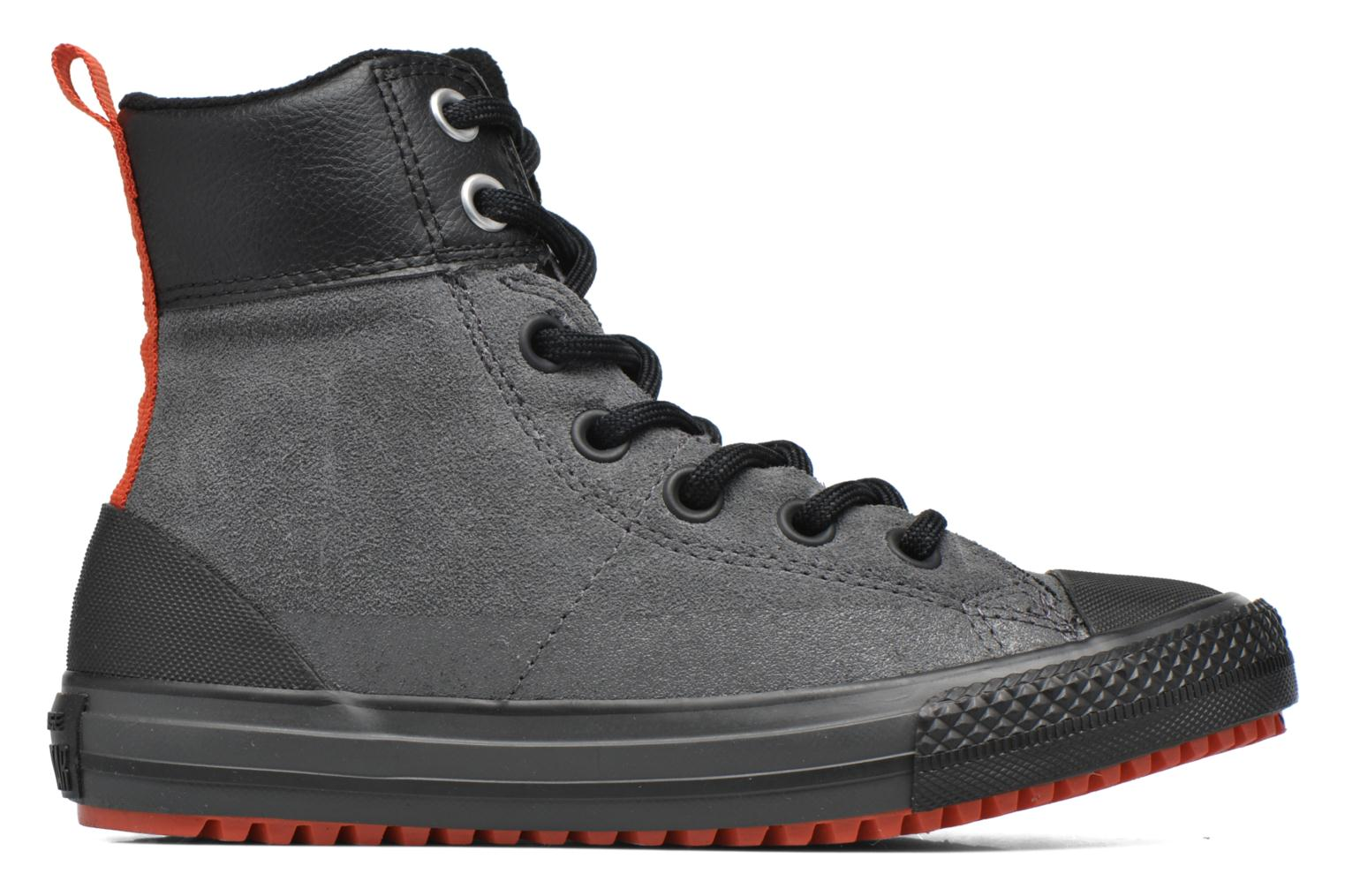 Trainers Converse Chuck Taylor All Star Asphalt Boot Hi Grey back view