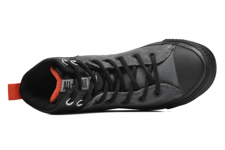 Sneaker Converse Chuck Taylor All Star Asphalt Boot Hi grau ansicht von links