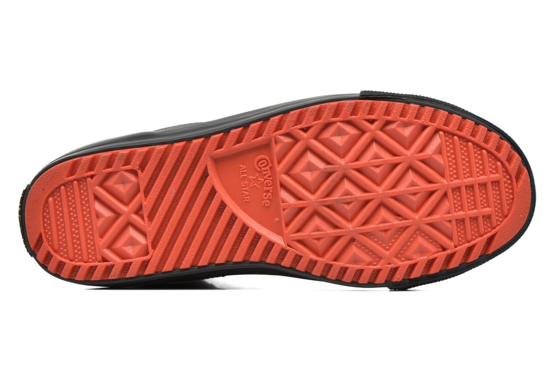 Sneaker Converse Chuck Taylor All Star Asphalt Boot Hi grau ansicht von oben