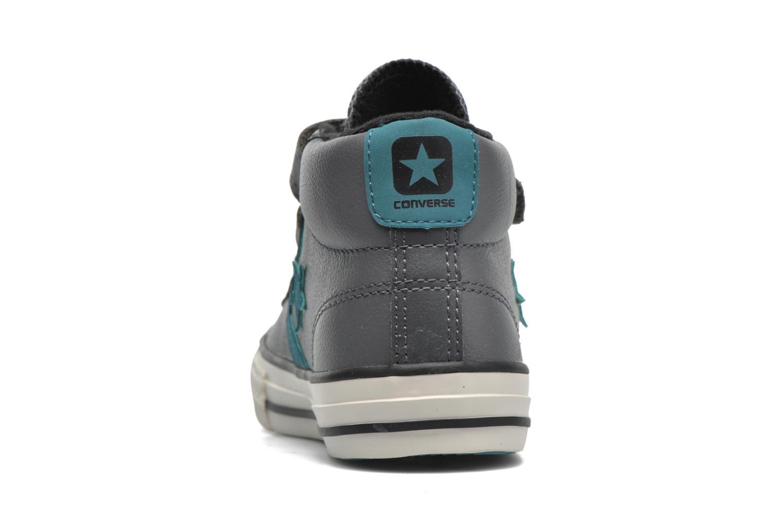Sneaker Converse Star Player 3V Mid grau ansicht von rechts