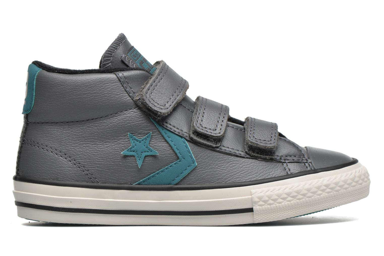 Sneaker Converse Star Player 3V Mid grau ansicht von hinten