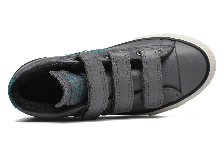 Sneaker Converse Star Player 3V Mid grau ansicht von links