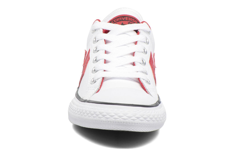 Baskets Converse Star Player Ev Ox Blanc vue portées chaussures
