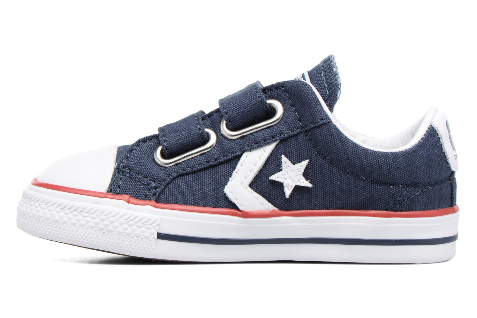 Trainers Converse Star Player 2V Ox Blue front view