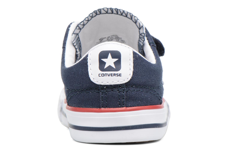 Baskets Converse Star Player 2V Ox Bleu vue droite