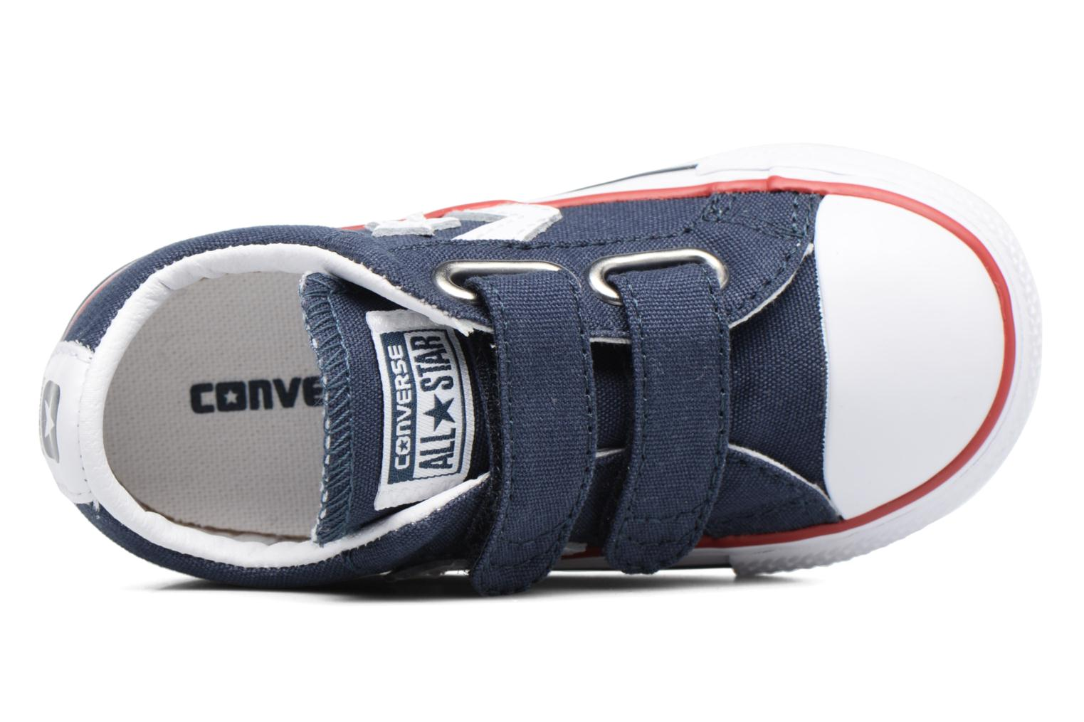 Trainers Converse Star Player 2V Ox Blue view from the left