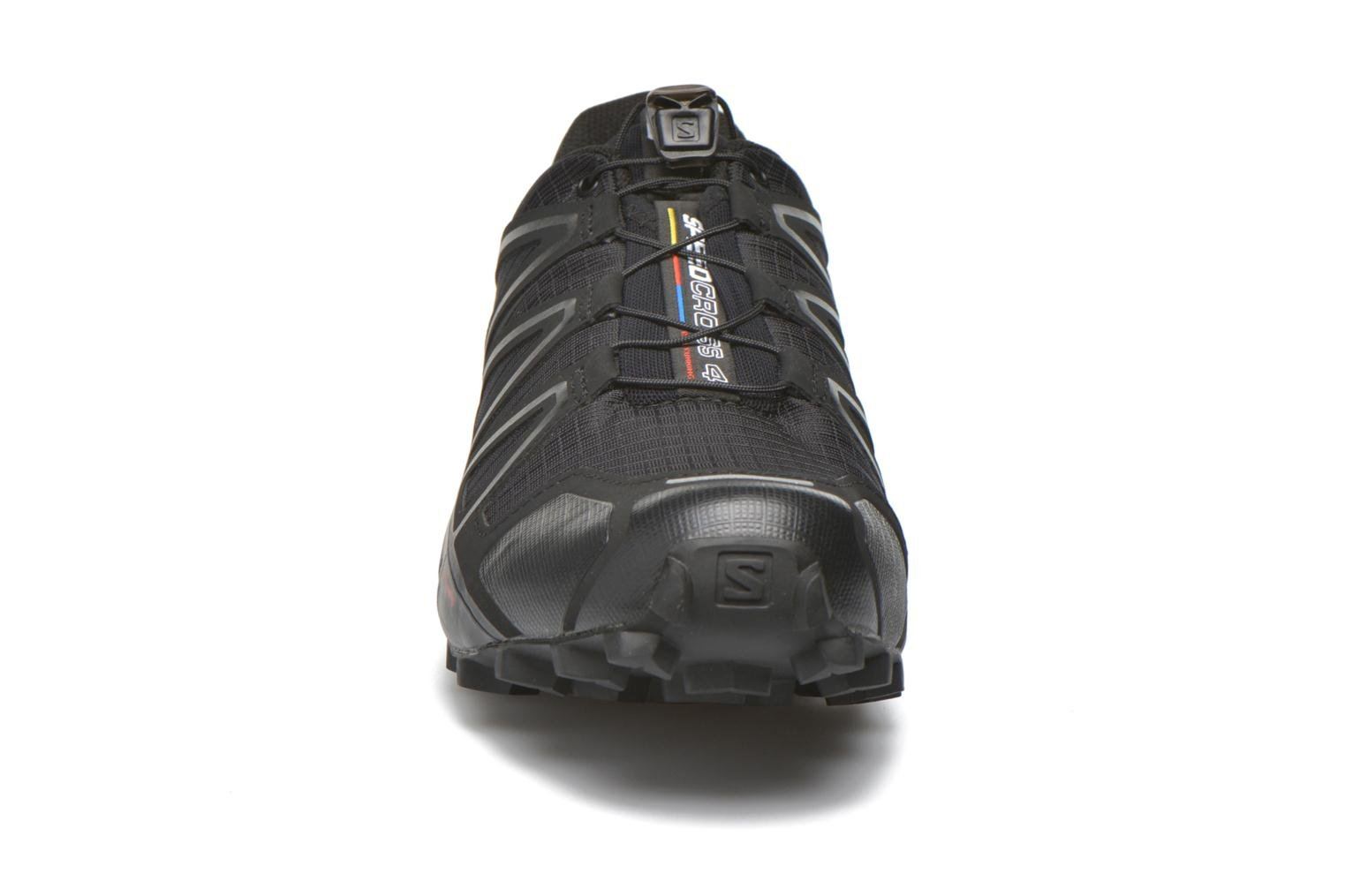 Zapatillas de deporte Salomon Speedcross 4 Negro vista del modelo
