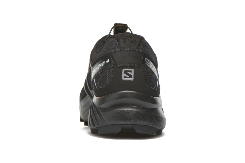 Scarpe sportive Salomon Speedcross 4 Nero immagine destra