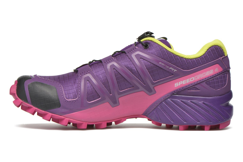 Chaussures de sport Salomon Speedcross 4 W Violet vue face