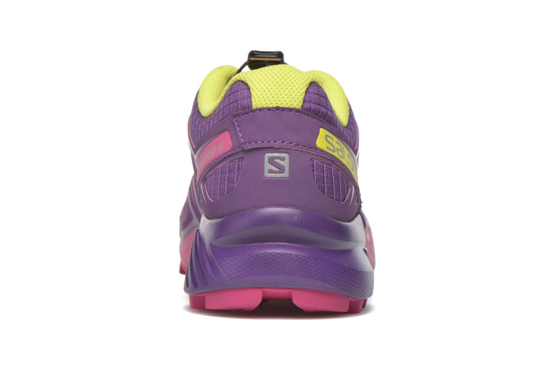 Chaussures de sport Salomon Speedcross 4 W Violet vue droite