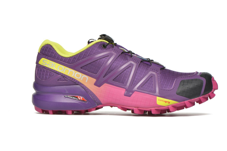 Chaussures de sport Salomon Speedcross 4 W Violet vue derrière