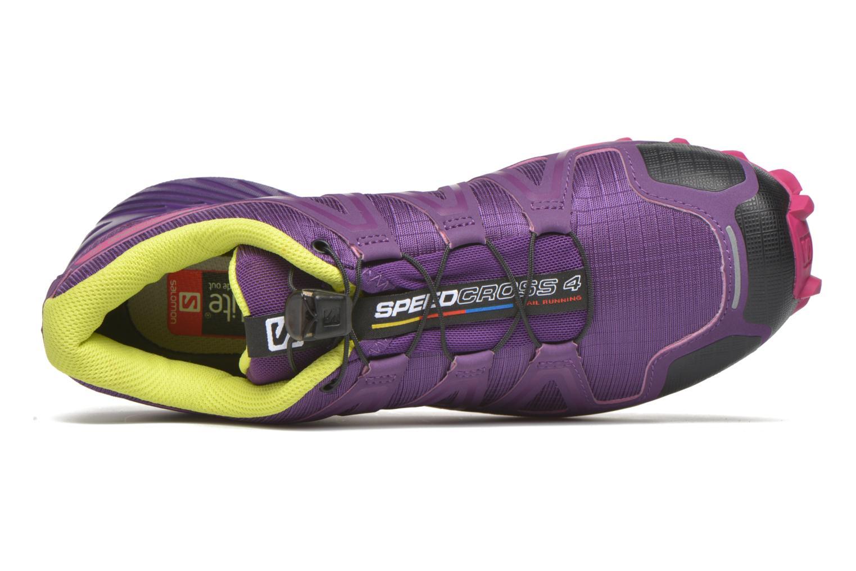Chaussures de sport Salomon Speedcross 4 W Violet vue gauche