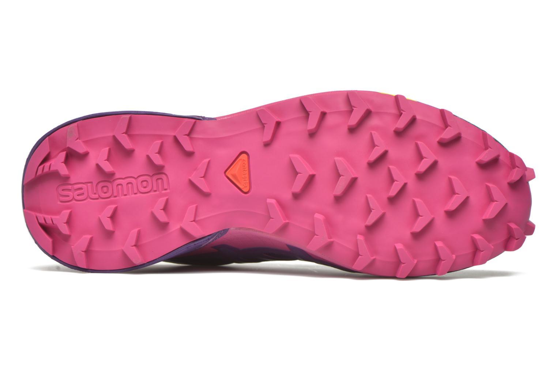 Chaussures de sport Salomon Speedcross 4 W Violet vue haut