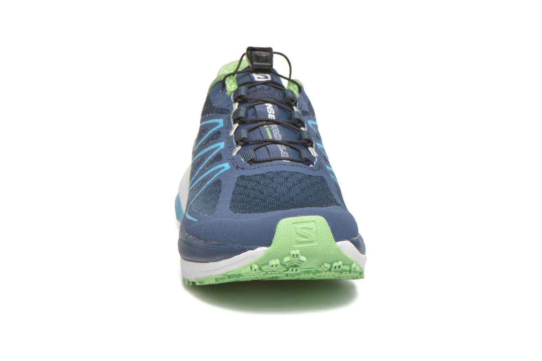Chaussures de sport Salomon Sense Propulse W Bleu vue portées chaussures