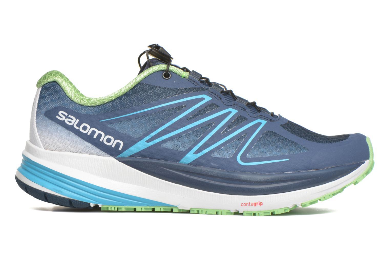 Chaussures de sport Salomon Sense Propulse W Bleu vue derrière