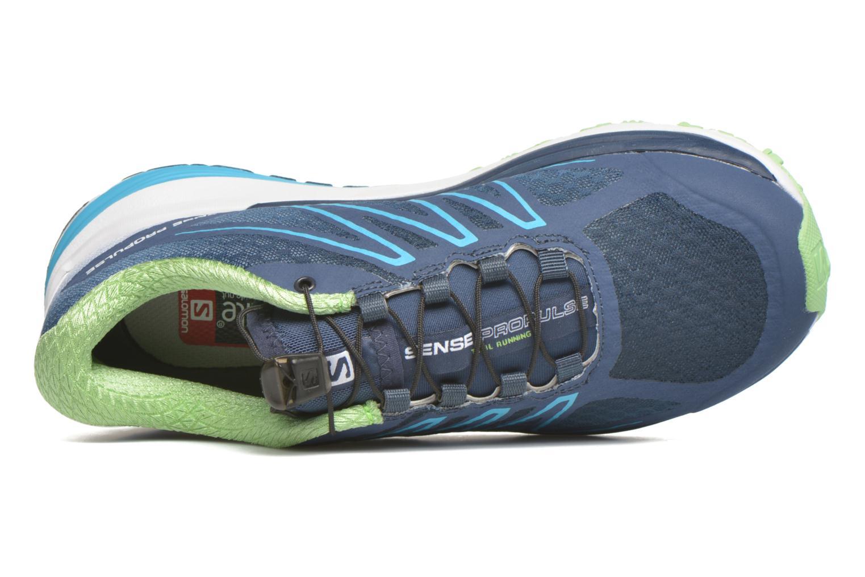 Chaussures de sport Salomon Sense Propulse W Bleu vue gauche