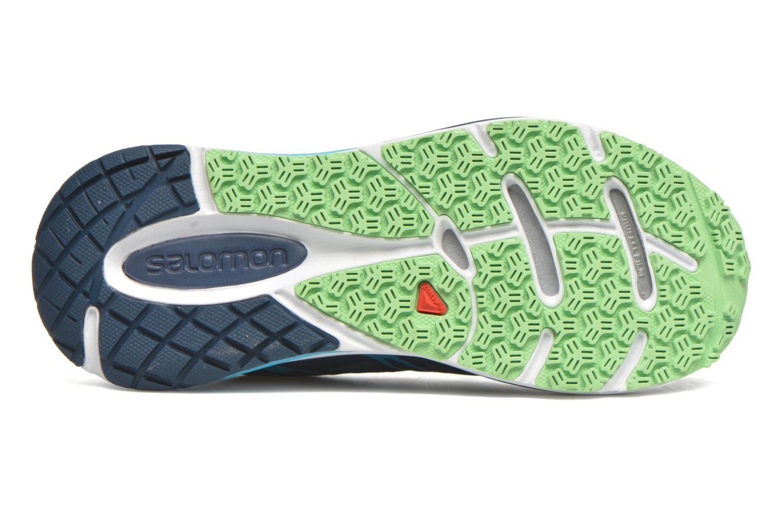 Chaussures de sport Salomon Sense Propulse W Bleu vue haut