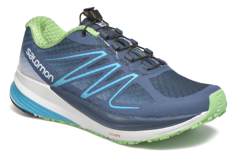 Chaussures de sport Salomon Sense Propulse W Bleu vue détail/paire