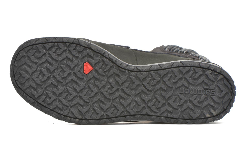 Chaussures de sport Salomon Hime Mid LTR CSWP Gris vue haut