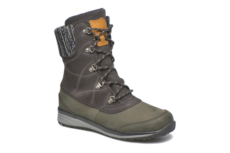 Chaussures de sport Salomon Hime Mid LTR CSWP Gris vue détail/paire