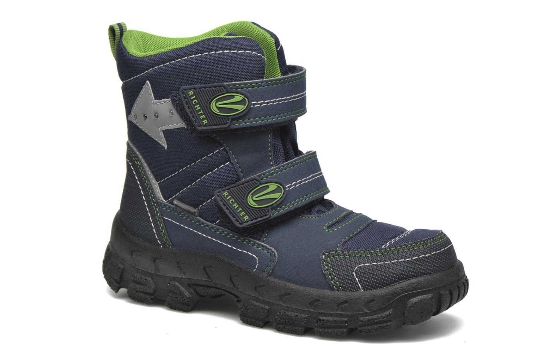 Støvler & gummistøvler Richter Erwin Blå detaljeret billede af skoene