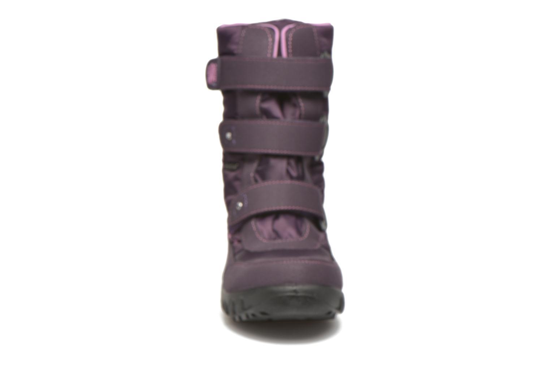 Bottes Richter Karoline Violet vue portées chaussures